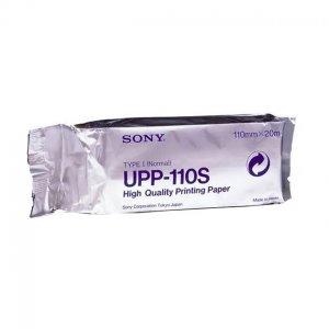 Papel Termico Sony Upp-110S Estandar (Caja X 10U)