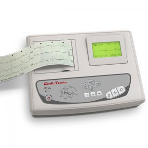 Electrocardiografo 3 Canales Cardiotecnica RG501Plus